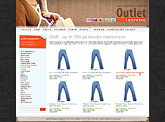 DanDomain Shop: Outlet Shopping