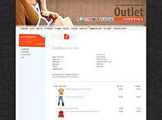 OUTLET SHOPPING - godkendelsestrin